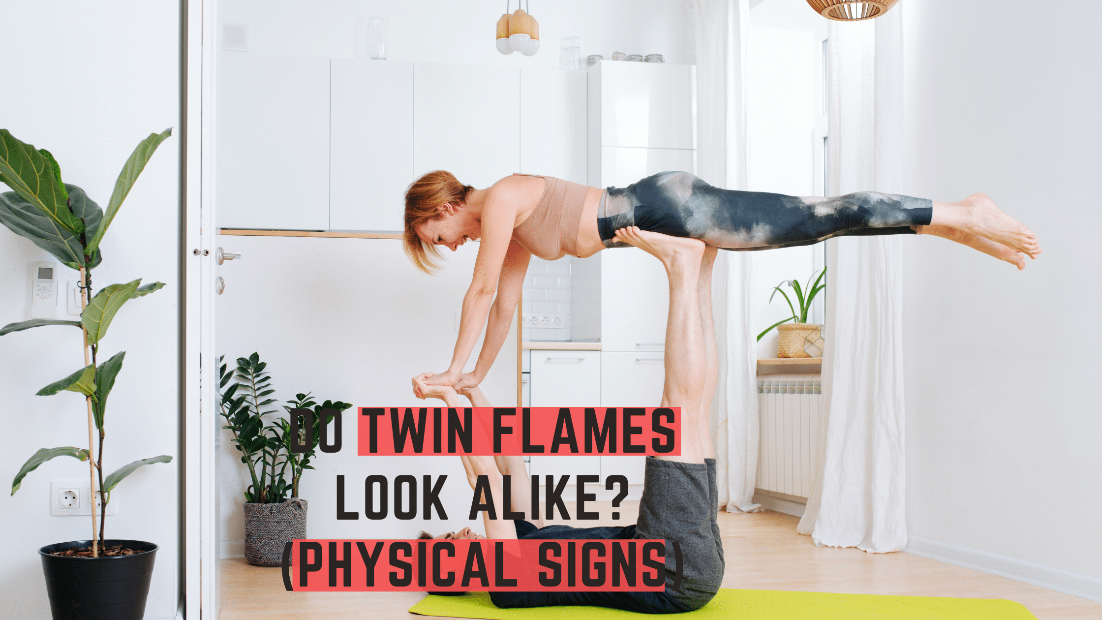 Do Twin Flames Look Alike?