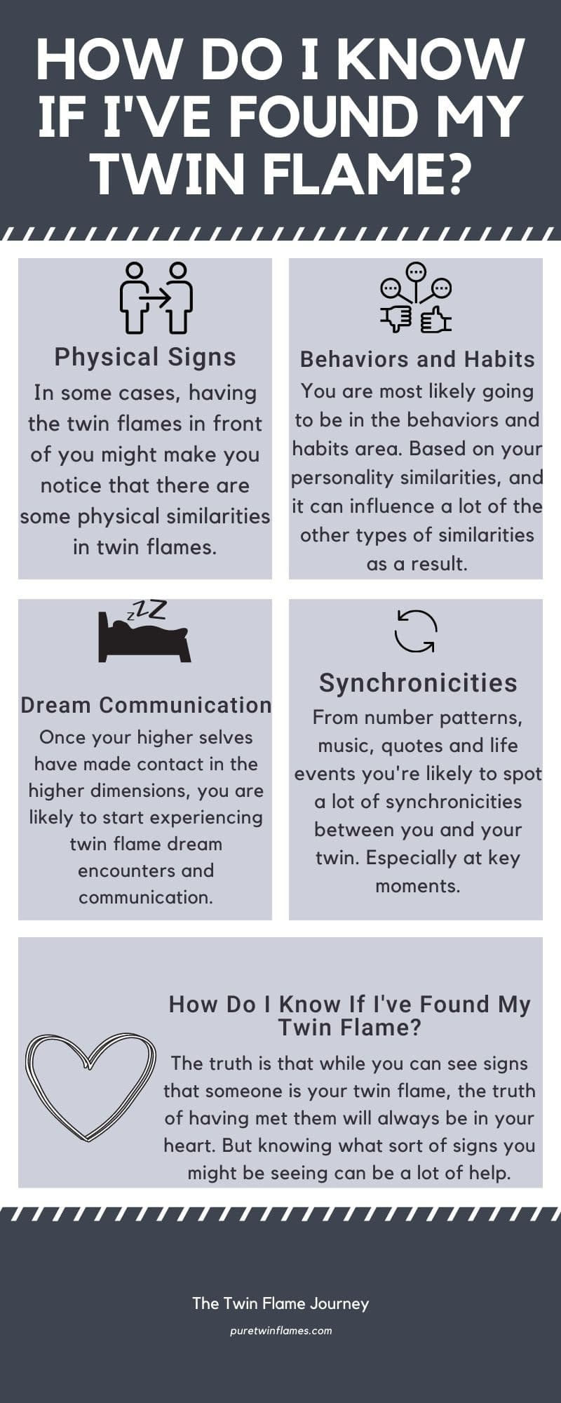 What Is a Twin Flame Infographic