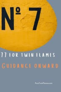 77 meaning for twin flames