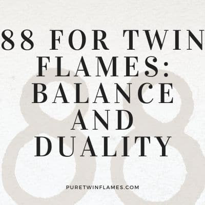 88 meaning for twin flames