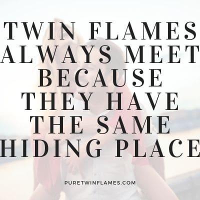 Twin Flame Divine Love Quote