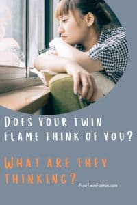 does your twin flame think of you