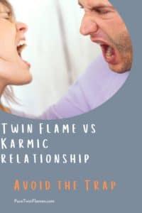 twin flames vs karmic partner