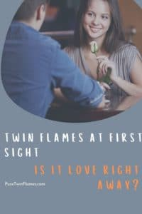 twin flames first sight