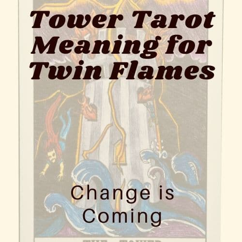 Tower Tarot Meaning for Twin Flames